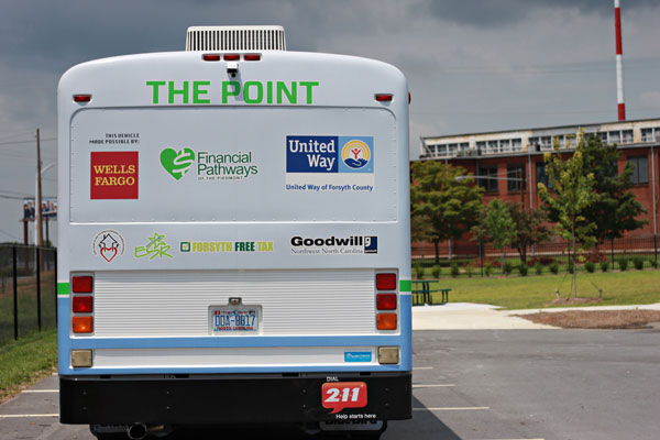The Point mobile financial unit